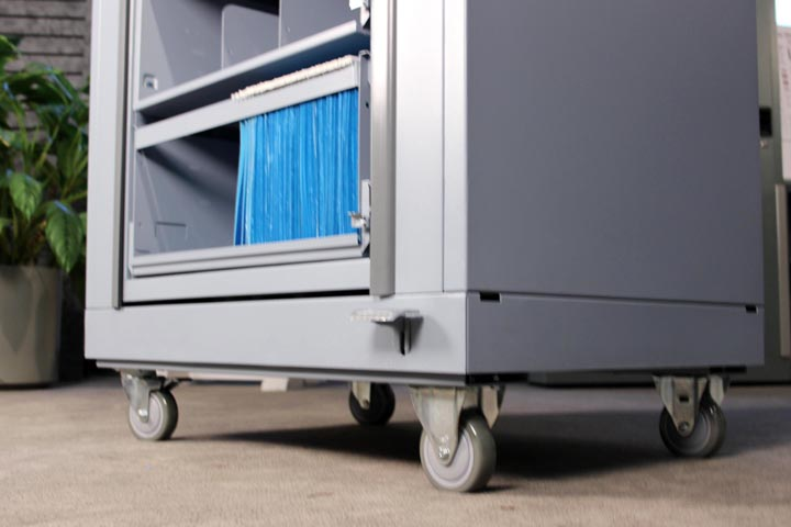 Rotating Shelving Caster Mobile Kit